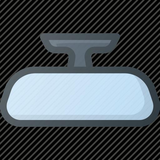 accessories, car, component, interior, mirror icon