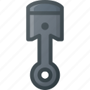 car, component, part, piston, vehicle icon