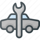 auto, car, repair, service icon