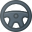 accessories, car, component, steering, wheel icon