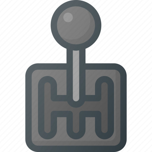 car, component, gear, manual, part, switch, vehicle icon