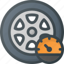 car, pressure, pump, tire, wheel icon