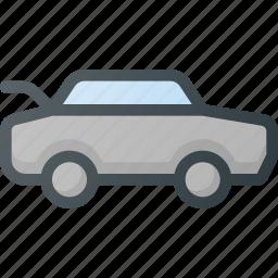 car, door, open, trunk icon