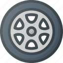 car, component, element, part, wheel icon