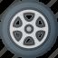 car, component, element, part, wheel icon