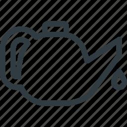 car, dashboard, lube, oil icon