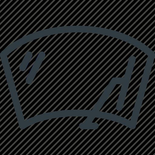 auto, car, componen, windscreen, windshield, wiper icon