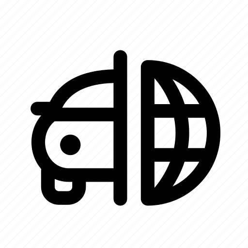 car, export, export import car, globe, import product, journey, vehicle icon