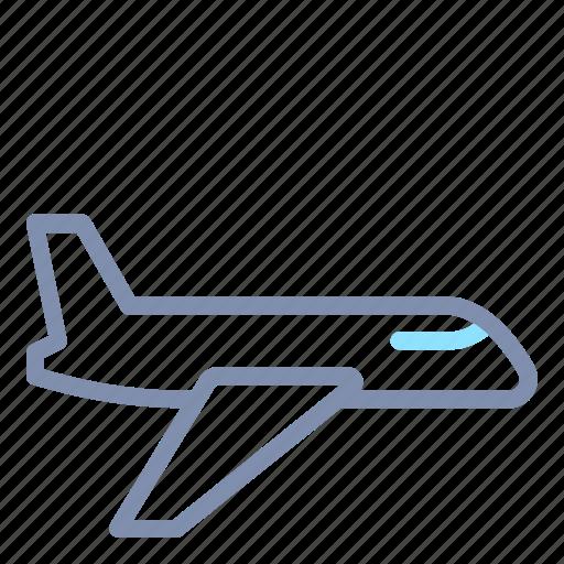 aeroplane, air, airplane, plane, transport, transportation icon