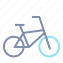 bicycle, bike, road, transportation icon