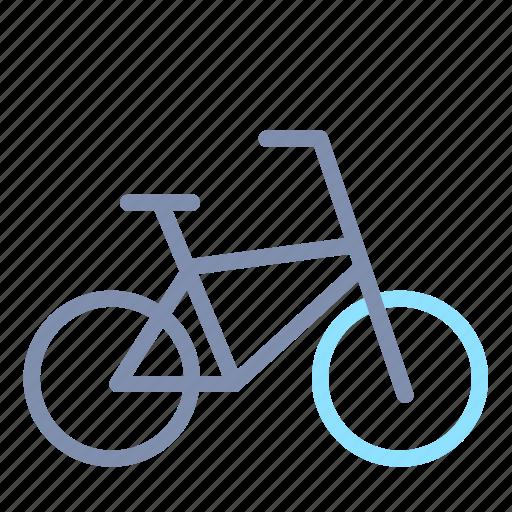 bicycle, bike, road, transportation icon