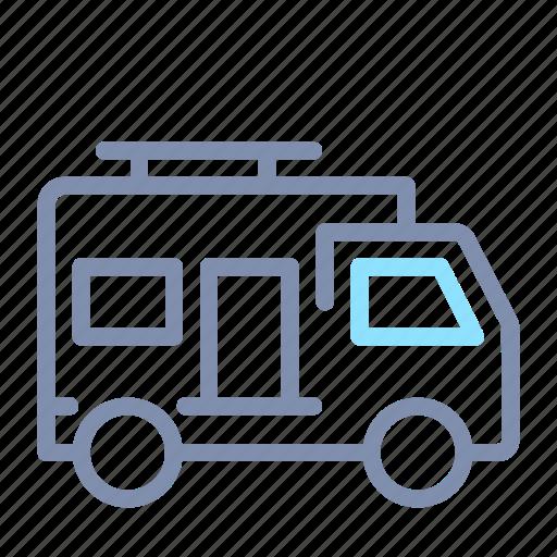 Bus, camper, car, transport, transportation, van, vehicle icon - Download on Iconfinder
