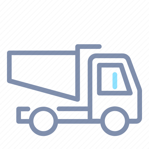 Car, dump, road, transportation, truck, vehicle icon - Download on Iconfinder
