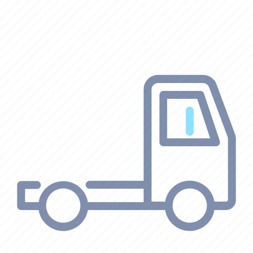 car, flatbed, road, transport, transportation, truck, vehicle icon