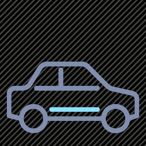 car, road, sedan, transport, transportation, vehicle icon