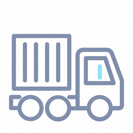 car, container, road, trailer, transportation, truck, vehicle icon