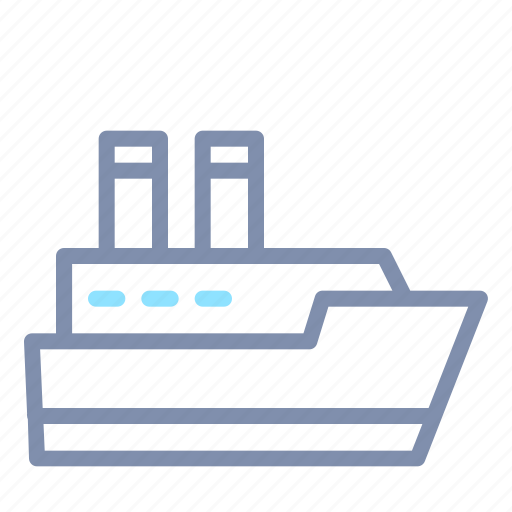 sea, ship, shipping, transport, transportation, vessel icon