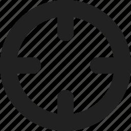locate, location icon