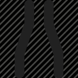 ahead, narrow, road icon