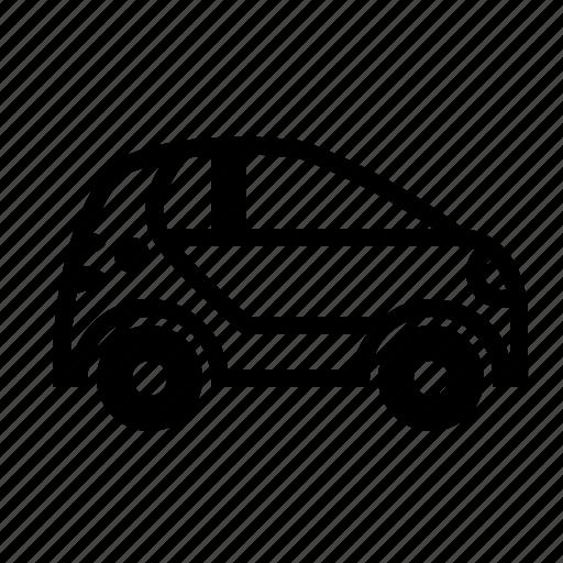 car, city car, compact car, drive, small car, transport, transportation icon