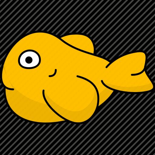 beach, cartoon animal, cartoon animals, cartoon fish, fish, fishing, ocean, river icon