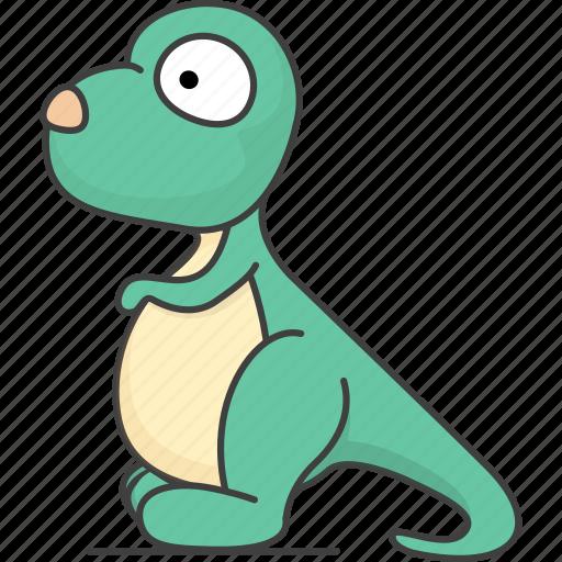 cartoon animal, cartoon animals, cartoon mammal, dinosaur, mammal, wild, zoo icon