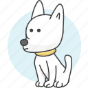 cartoon animal, cartoon animals, cartoon dog, cut dog, defend, dog, guard, pet, watch icon