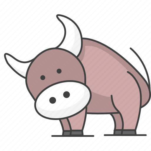 cartoon animal, cartoon animals, cartoon cow, cow, cute cow, mammal, nature, zoo icon