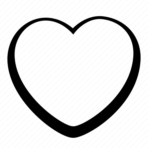 cartoon, heart, toon, ui icon