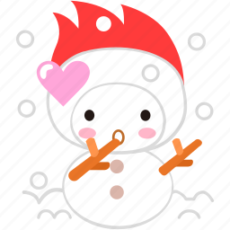 cartoon, character, cold, fireboy, love, winter icon