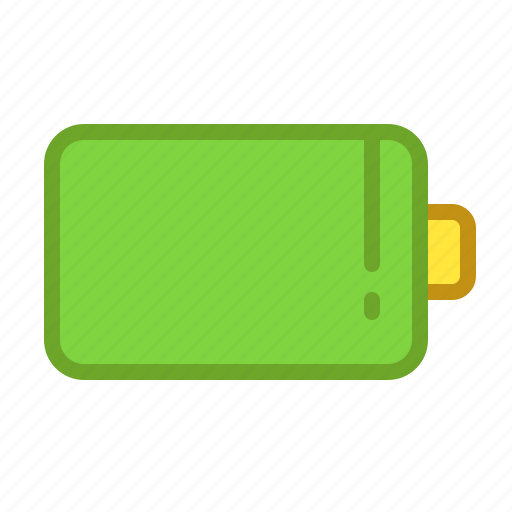 battery, charging, electricity, full, smartphone icon