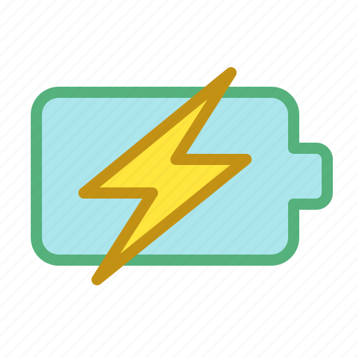 battery, charging, electricity, smartphone icon