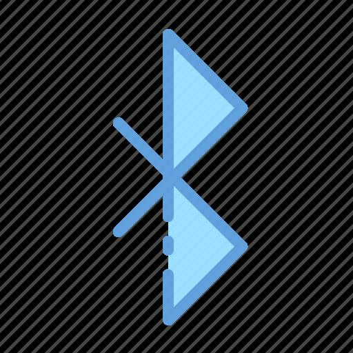 bluetooth, data, transfer, wireless icon