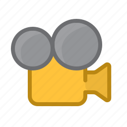 camera, film, movie, movie track, old, video icon