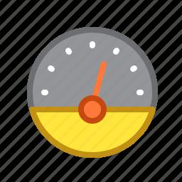 clock, scale, speed, speedo, speedometer icon