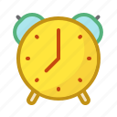 alarm, clock, hours, minutes, morning, time icon