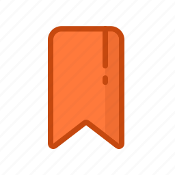 bookmark, docket, label, sticker, tag, tally icon