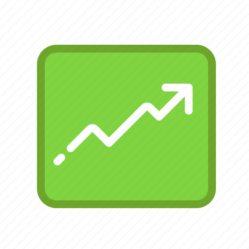 arrow, diagram, graph, mindmap icon
