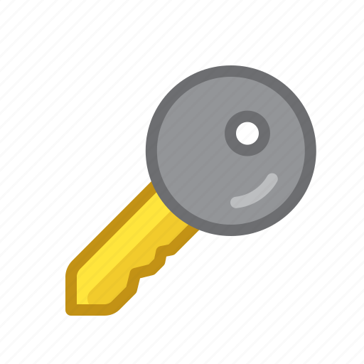 in, key, log, padlock, safe, security icon