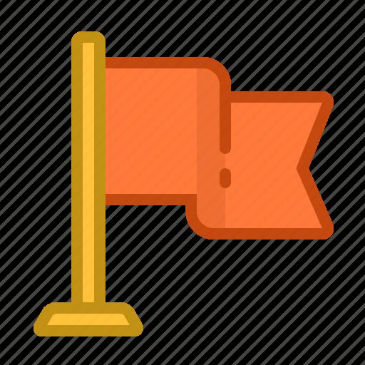 flag, geotag, map, mark, pin, tag icon
