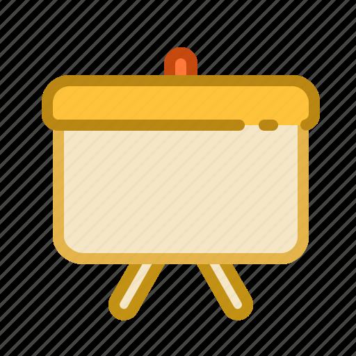 graph, presentation, whiteboard icon