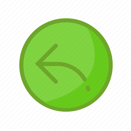 answer, arrow, green, mail, reply icon