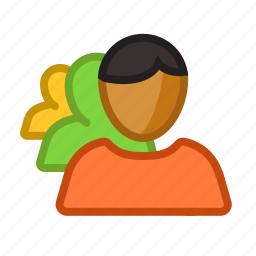 avatar, character, diversity, group, racial, users icon
