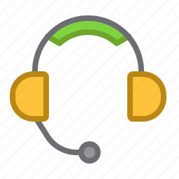 connection, headphones, headset, help, support icon