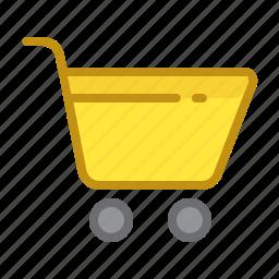 buy, cart, market, sell, shop, shopping, wheels icon