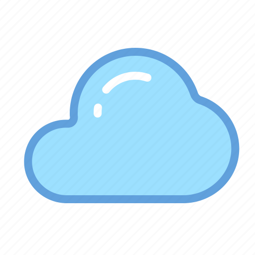 Files, storage, sync, weather, data, cloud icon