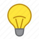 brightness, enabled, lamp, light, lightness icon