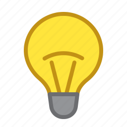 brightness, enabled, lamp, light, lightness icon