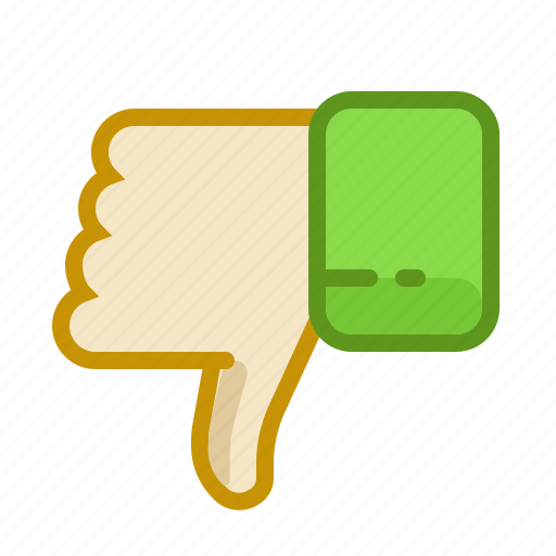 dislike, down, finger, gesture, hand, inerface, touch icon