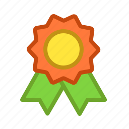 belt, honor, medal, prize, rating, star icon